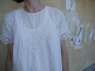 Vintage Lace Blouse Burda 3/2013 #137