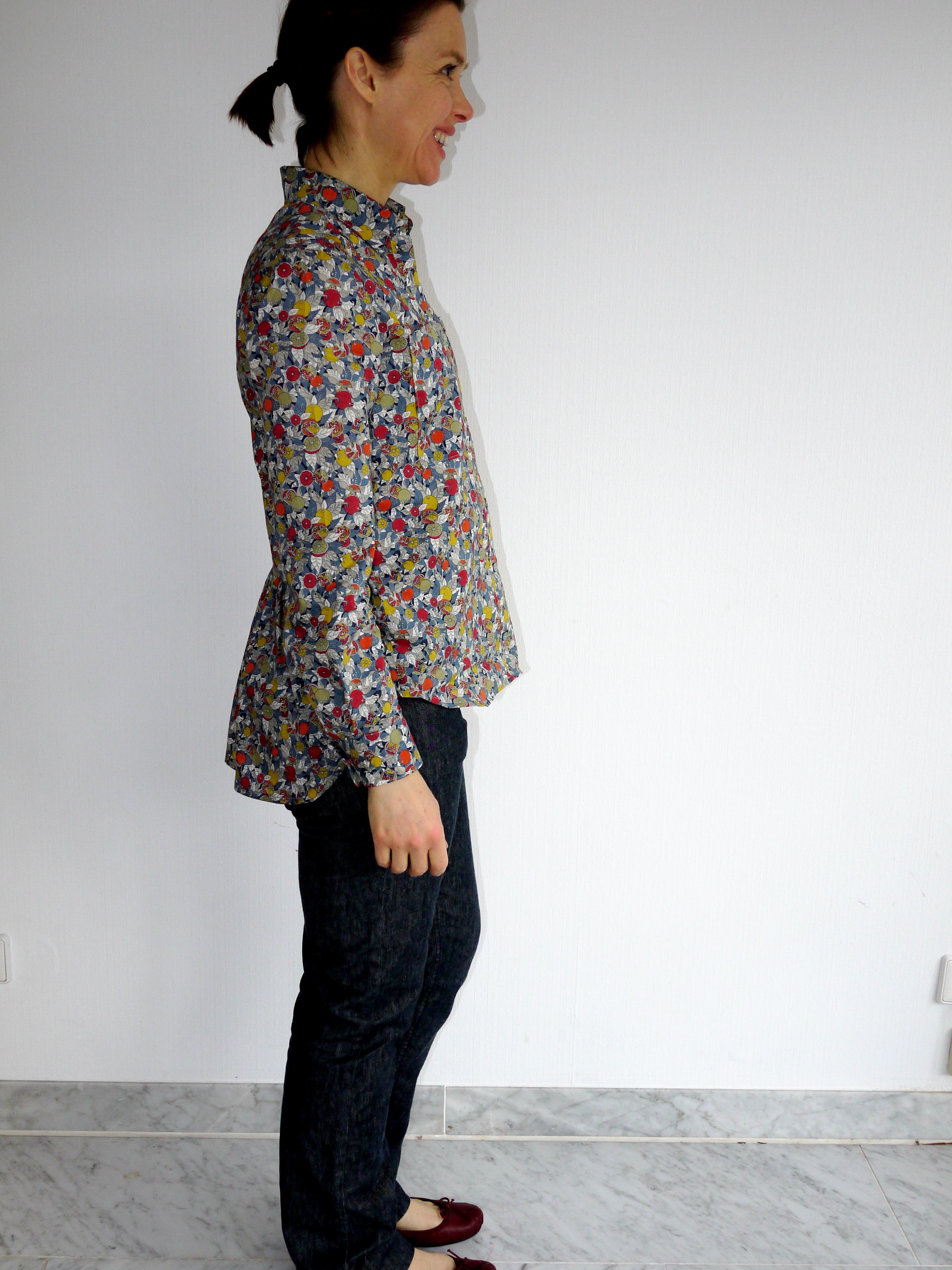 Archer shirt by Grainline Studios View B
