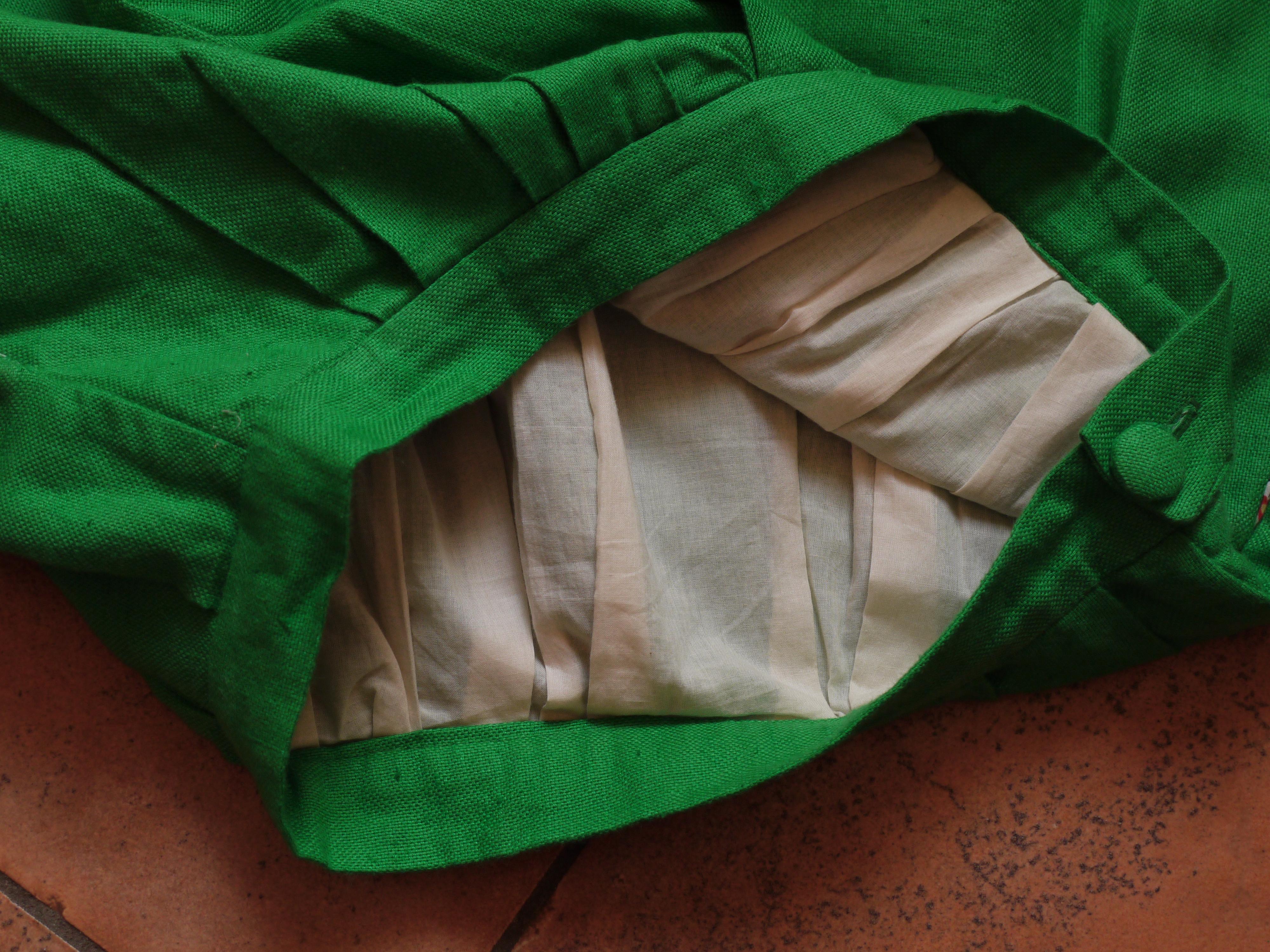 Organic cotton batiste lining