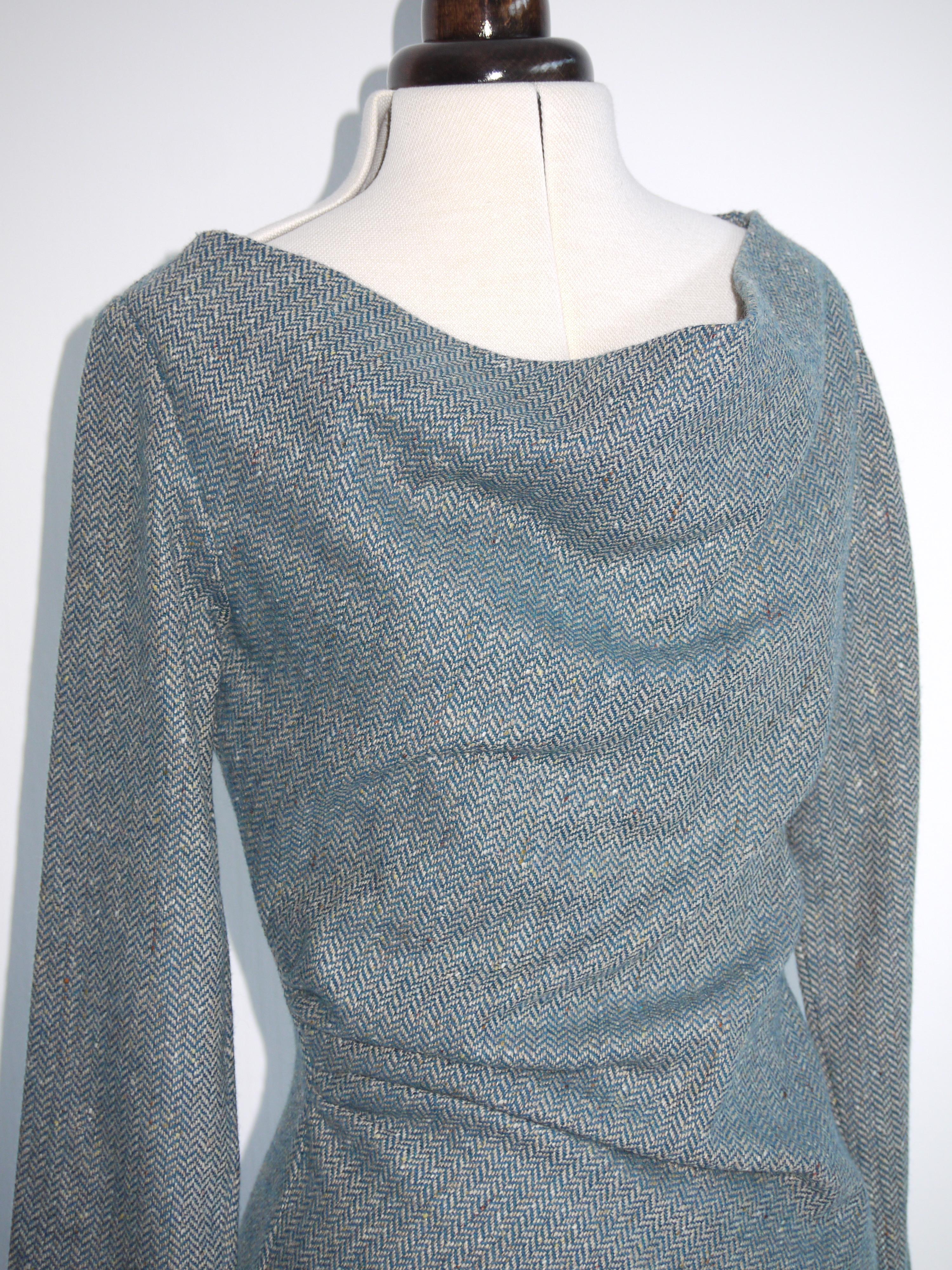 British tweed wool fabric