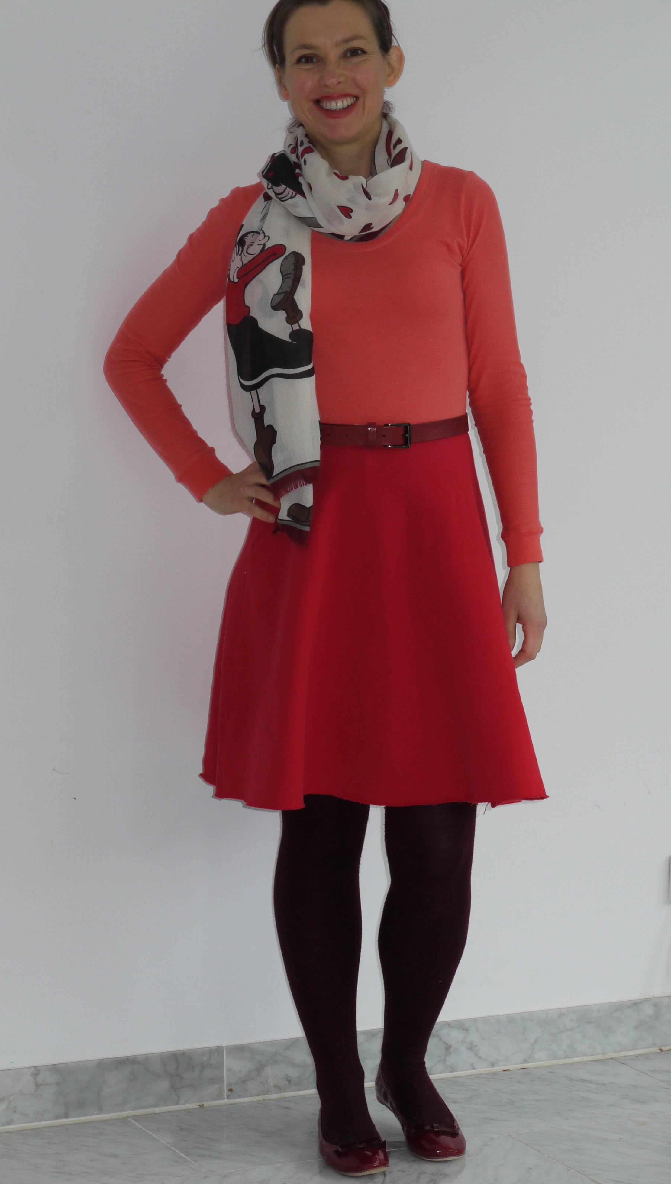 Ichy Coo Lady Skater dress