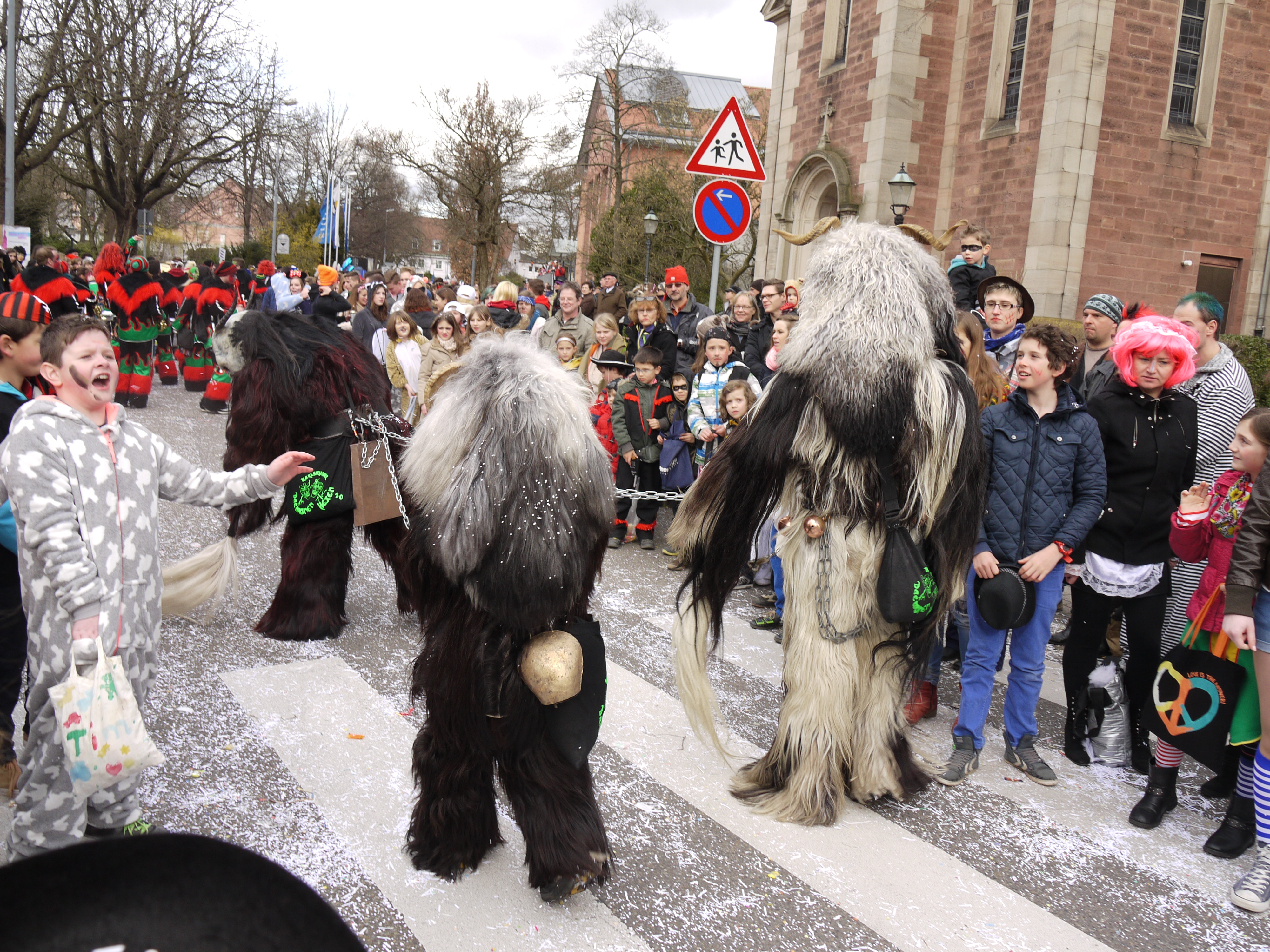 Fasching or Carnival street parade