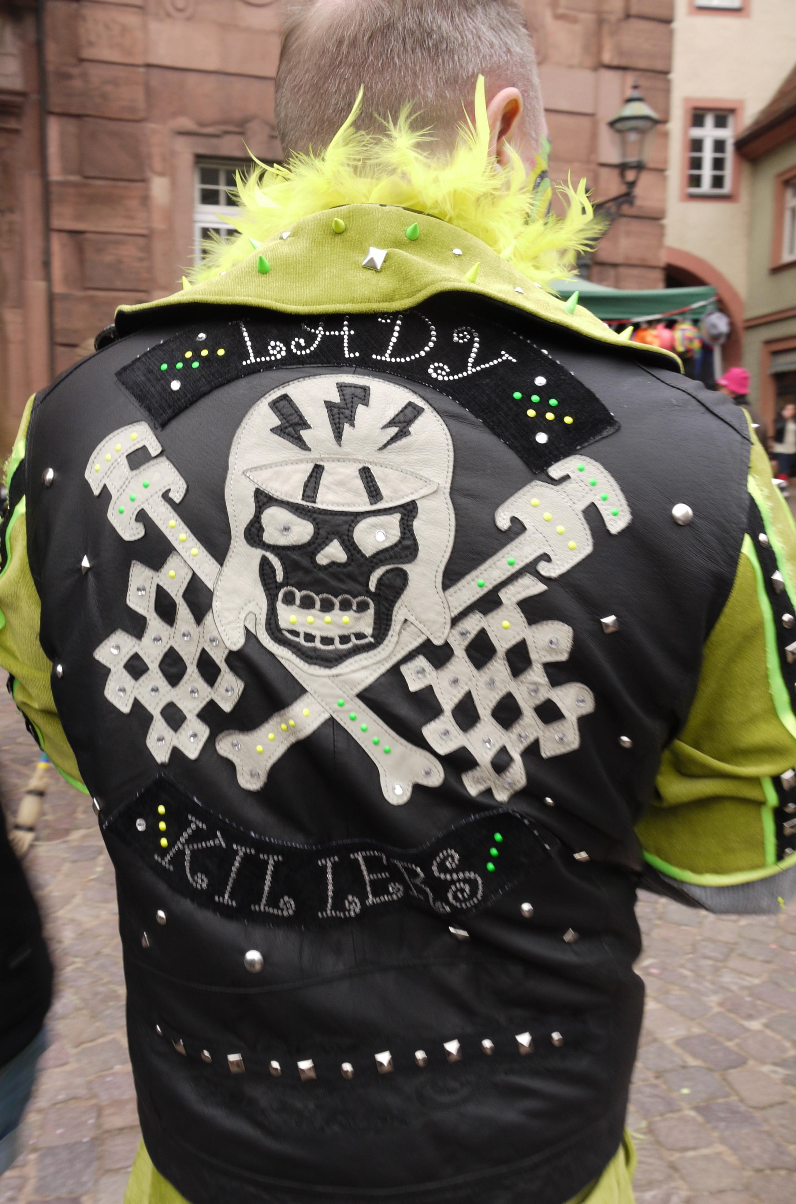 Hand appliqued jacket!