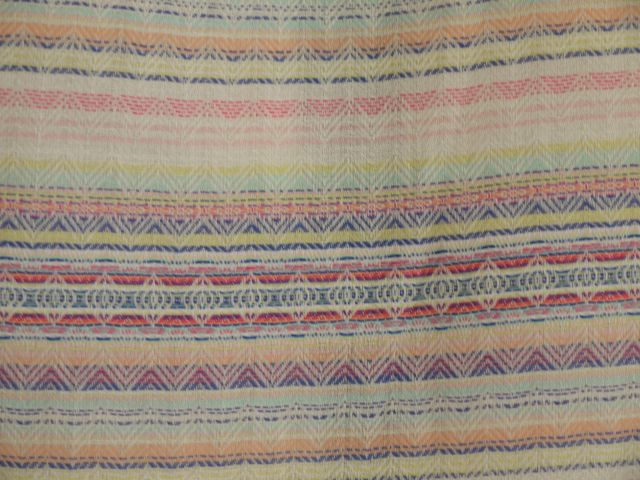 Cotton shirting by Italian designer Missoni