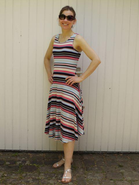 stripe jersey dress 3