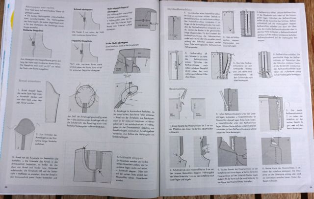fashion style sewing explanations